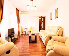 Deluxe holiday apartment for business travel in Bucharest City Center